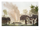 Punishment for Adultery with One of the King's Wives, Dahomey, c.1820-30 Giclee Print by Gallo Gallina