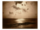 Solar Effect - Ocean, 1857 Giclee Print by Gustave Le Gray