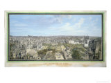 Panoramic View of Paris Towards the North, 1786 Giclee Print by Louis-Nicolas de Lespinasse