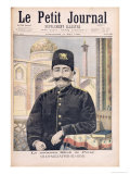 Portrait of Shah Mozzafer-Ed-Din Giclee Print by Oswaldo Tofani