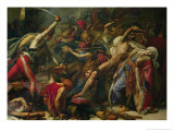 The Revolt at Cairo, 21st October 1798, 1810 Giclee Print by Anne-Louis Girodet de Roussy-Trioson