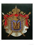 Coat of Arms of Emperor Napoleon III Giclee Print