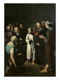 Jesus with the Doctors Giclee Print by Théodule Augustin Ribot