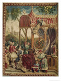 The Astronomers, Beauvais Workshop, 1711 Giclee Print by Jean-baptiste Belin De Fontenay