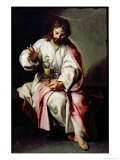 St. John the Evangelist and the Poisoned Cup, 1636-38 Giclee Print by Alonso Cano
