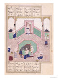 Turkish Bath, from Khusrau and Shirin by Elyas Nezami Giclee Print