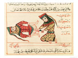 Midwife Operating on a Hermaphrodite, 1466 Giclee Print by Charaf-ed-din 
