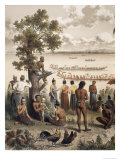 Pirogue Races, Bassac River, Atlas du Voyage D'Exploration de LIndochine by Doudart de Lagree Giclee Print by Louis Delaporte