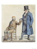 You Are Fine! Depiction of the Poor Man's Doctor Giclee Print by Edme Jean Pigal