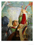 Trumpeter, Battle of Heraclius and Chosroes, Legend of the True Cross Cycle, Completed 1464 Giclee Print by Piero della Francesca