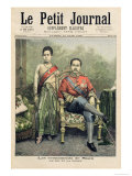 The King and Queen of Siam, Illustration from Le Petit Journal, 10th June 1893 Giclee Print by Henri Meyer