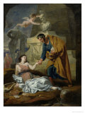 Allegory of the Arts and Patronage Or, Emperor Augustus Reproduction procédé giclée par Gerard De Lairesse