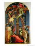 The Descent from the Cross, 1521 Giclée-tryk af Rosso Fiorentino (Battista di Jacopo)