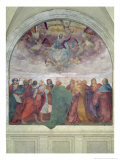 Assumption of the Virgin, 1513 Giclee Print by Rosso Fiorentino (Battista di Jacopo)