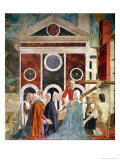 The Verification of the True Cross, c.1452-59 Giclee Print by Piero della Francesca