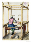 Venetian Weaver Reproduction proc&#233;d&#233; gicl&#233;e par Jan van Grevenbroeck