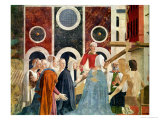 The Verification of the True Cross, Completed 1464 Giclee Print by Piero della Francesca