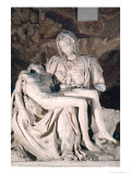 Pieta, After It Was Attacked by Laszlo Toth on 21st May 1972 Giclee Print by  Michelangelo Buonarroti