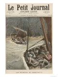 Newfoundland Fishermen, from Le Petit Journal, 19th March 1892 Giclee Print by Henri Meyer