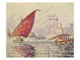 Fort Saint-Jean, Marseilles, 1907 Giclee Print by Paul Signac