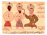 Operation For Cauterisation, 1466 Giclee Print by Charaf-ed-din 