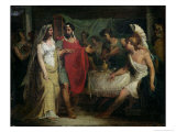 The Wedding of Alexander the Great Giclee Print by Pierre Narcisse Guérin