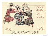 Excision of a Ranula from under the Tongue, 1466 Giclee Print by Charaf-ed-din 