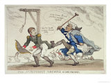 The Affectionate Farewell Or, Kick For Kick, Published by R. Ackermann, 17th April 1814 Giclee Print by Thomas Rowlandson