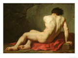 Patrocles Giclee Print by Jacques-Louis David