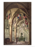 Tombs of the Knights Templar, c.1820-39 Giclee Print by Alessandro Sanquirico