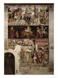 The Triumph of Venus: April from the Room of the Months, c.1467-70 Giclee Print by Francesco del Cossa
