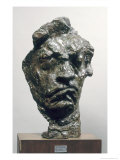 Large Tragic Mask of Ludwig Van Beethoven Giclee Print by Emile-antoine Bourdelle