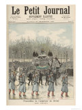 The Funeral of the Emperor of Brazil: The Carriage, from Le Petit Journal, 26th December 1891 Giclee Print by Henri Meyer