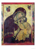 The Virgin Eleousa, from Nessebar, Bulgaria, 13th-14th Century Giclee Print by Byzantine