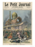 Cholera in Russia: The Troubles in Astrakhan, from Le Petit Journal, 6th August 1892 Giclee Print by Henri Meyer