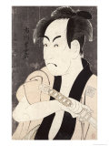 The Actor Ichikawa Omezu in the Role of the Servant Yakko Ippei, 1794 Giclee Print by  Toshusai Sharaku