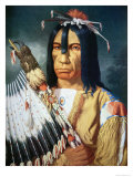 Native American Chief of the Cree People of Canada, 1848 Giclee Print by Paul Kane