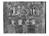 Raising of Lazarus, from the Codex Purpureus Giclée-Druck