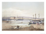 Port Adelaide, from South Australia Illustrated Published 1847 Giclee Print by George French Angas