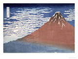 Fine Weather with South Wind, from Fugaku Sanjurokkei Giclée-Druck von Katsushika Hokusai