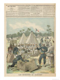 New Year's Boxes in Dahomey, from Le Petit Journal, 31st December 1892 Giclee Print by Henri Meyer