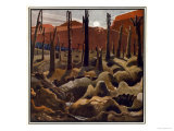 Making a New World, British Artists at the Front, Continuation of the Western Front, c.1918 Giclee Print by Paul Nash