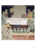 The Marriage at Cana, from a Series of Scenes of the New Testament Giclee Print by  Barna Da Siena