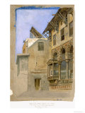 House of Memlook Radnau Bey, Cairo, 1870 Giclee Print by Frank Dillon