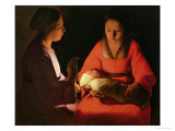 The New Born Child, Late 1640 Giclee Print by Georges de La Tour