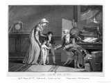 New Year's Day, 1807 Giclee Print by Philibert-Louis Debucourt