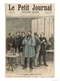 The Chamber of Deputies: The Refreshment Room, from Le Petit Journal, 5th November 1892 Giclee Print by Henri Meyer