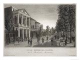 The Theatre Des Varietes, Boulevard Montmartre, Paris Giclee Print by Henri Courvoisier-Voisin