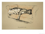 Toleration, 1930, 1st Edition of Sleeping Partners Giclee Print by Cecil Aldin