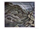 Year of Our Lord 1917, British Artists at the Front, Continuation of the Western Front, Nash, 1918 Giclee Print by Paul Nash